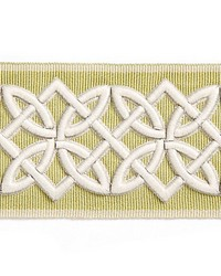 Celtic Embroidered Tape Lettuce by  Scalamandre Trim