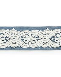 Linnea Embroidered Tape Copenhagen Blue by