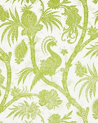 Balinese Peacock Pear by  Scalamandre Wallcoverings