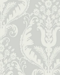 Primavera French Grey by  Scalamandre Wallcoverings