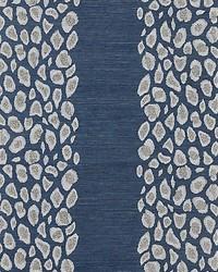 Catwalk Embellished Grasscloth Midnight by