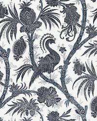 Balinese Peacock Indigo by