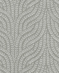 Willow Vine Embroidery French Grey by