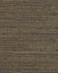 Metal Sisal Blackened Gold by  Scalamandre Wallcoverings