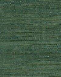 Textured Sisal Jade by  Scalamandre Wallcoverings