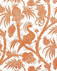 Balinese Peacock Mandarin by  Scalamandre Wallcoverings