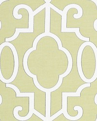 Ming Fretwork Pear by  Scalamandre Wallcoverings