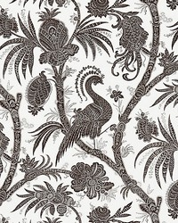Balinese Peacock Java by  Scalamandre Wallcoverings