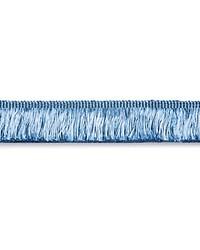 Gripsholm Brush Fringe Blue Jay by