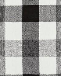Westport Linen Plaid Noir by