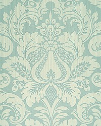 Daphne Swedish Blue by  Scalamandre Wallcoverings