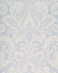 Daphne Canton Blue by  Scalamandre Wallcoverings