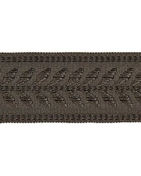 Castaing Braid Charcoal by  Scalamandre Trim