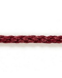 Red Scalamandre Trim and Tassels - Fringe Scalamandre Trim Parish Cord Ruby