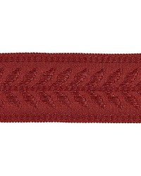 Castaing Braid Ruby by  Scalamandre Trim