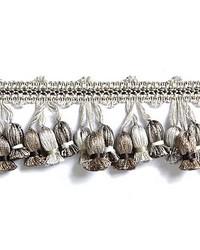Newport Tassel Fringe French Grey by