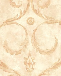 Gillian Red gold by  Scalamandre Wallcoverings