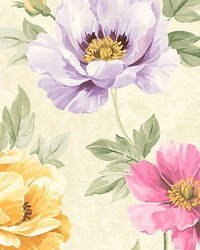 Kinsley Pink yellow by  Scalamandre Wallcoverings