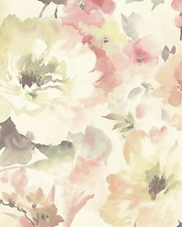 Juliet Pink by  Scalamandre Wallcoverings