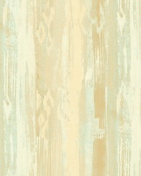 Melissa Gold turquoise by  Scalamandre Wallcoverings