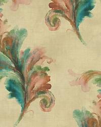 Scarlett Ohara Green gold by  Scalamandre Wallcoverings