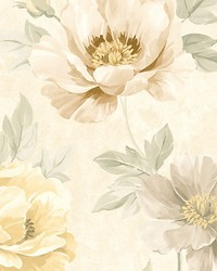 Kinsley Cream gold by  Scalamandre Wallcoverings