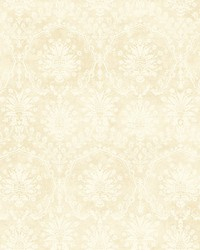 Atwells Cream gold by  Scalamandre Wallcoverings