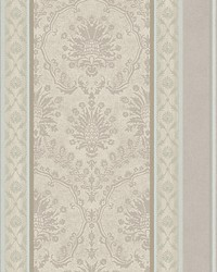 Cushing Silver blue by  Scalamandre Wallcoverings