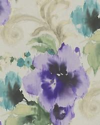 Marilyn Silver purple by  Scalamandre Wallcoverings
