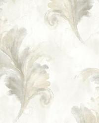 Scarlett Ohara Silver by  Scalamandre Wallcoverings