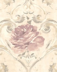 Amy Neutral pink by  Scalamandre Wallcoverings