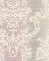 Rochambeau Violet silver by  Scalamandre Wallcoverings