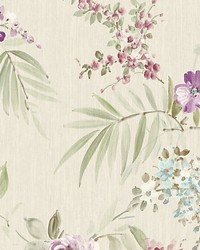 Providence Violet blue by  Scalamandre Wallcoverings