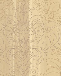 Angel Burgundy gold by  Scalamandre Wallcoverings