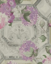 Cleopatra Silver by  Scalamandre Wallcoverings
