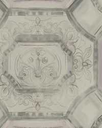 Julius Silver by  Scalamandre Wallcoverings