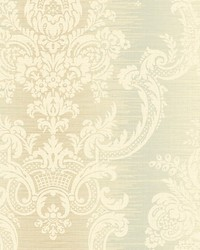 Rochambeau Gold green by  Scalamandre Wallcoverings