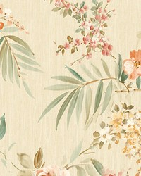 Providence Salmon by  Scalamandre Wallcoverings