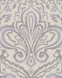 Prospect Purple silver by  Scalamandre Wallcoverings