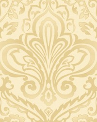 Prospect Cream gold by  Scalamandre Wallcoverings