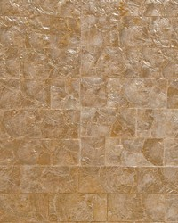 Pearlessence 2x4 Inch Scored Gold by  Scalamandre Wallcoverings
