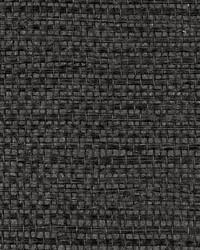 Simply Sisal Noir by  Scalamandre Wallcoverings