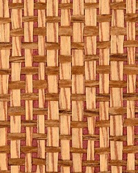 Canyon Road Cinnamon by  Scalamandre Wallcoverings