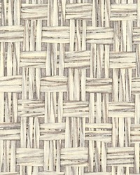 Saddle Weave Grey by  Scalamandre Wallcoverings