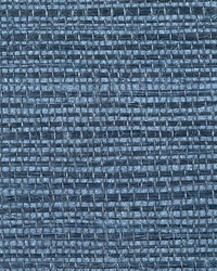 Simply Sisal Navy by  Scalamandre Wallcoverings