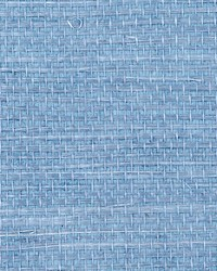 Simply Sisal Blue by  Scalamandre Wallcoverings