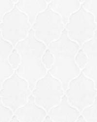 Trellis Diamond Fabric  Papyrus 4 Ice