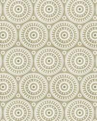 Brown Suzani Fabric  Telluride 1 Taupe