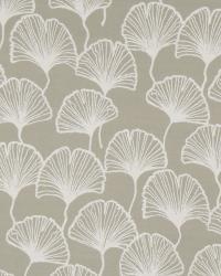 Grey Oriental Fabric  Isetta Fans Stone
