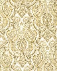 Grey Classic Paisley Fabric  Lashina Stone